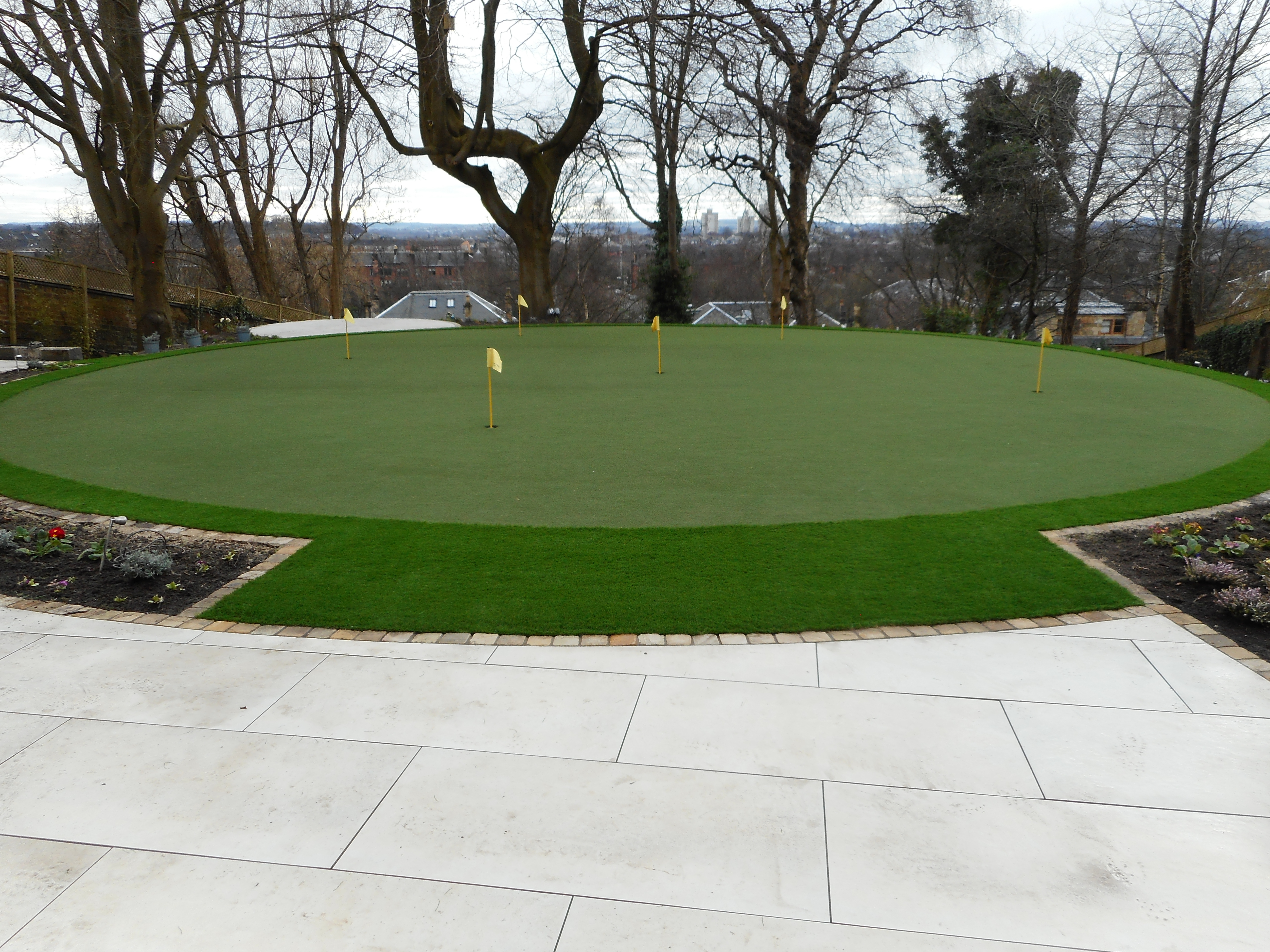 Private Putting Green Installation in Scotland