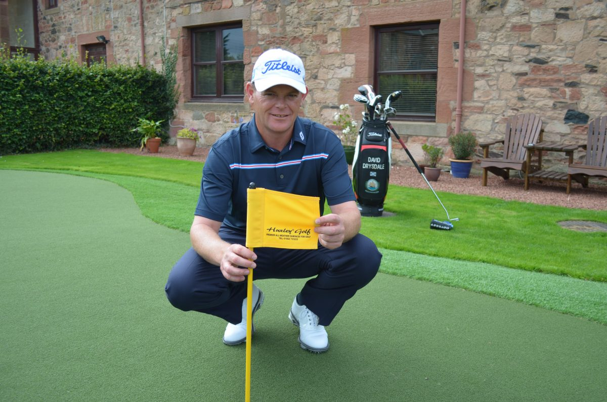 David Drysdale Returns To Huxley Golf To Sharpen His Short Game