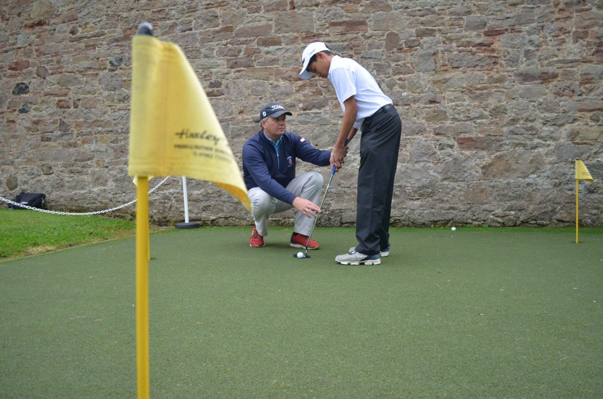 Huxley Golf Installs Practice Area for UK's Junior Champions
