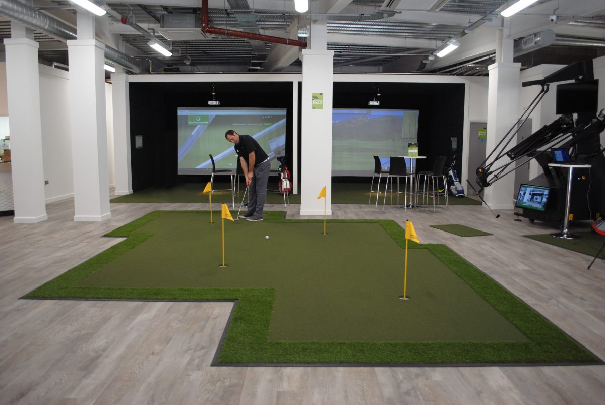 Huxley Golf Indoor Putting Green Installed at the FairWeather\'s ...